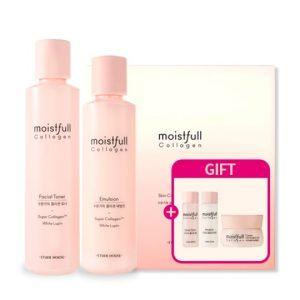 Korean Beauty Skincare -ETUDE-Moistfull Collagen Skin Care Set (2 Kinds)