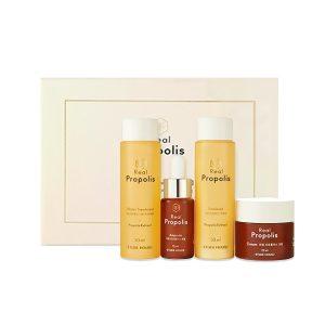 Korean Beauty Skincare -ETUDE-Real Propolis Skin Care Mini Kit [4 Kinds]