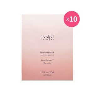 Korean Beauty Skincare -ETUDE-[set] Moistfull Collagen Deep Sheet Mask 10pcs