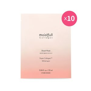 Korean Beauty Skincare -ETUDE-[set] Moistfull Collagen Sheet Mask 10pcs