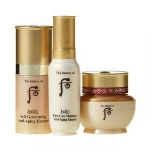 GlowingGorgeous -The History of Whoo-Bichup 3-Step Special Gift Kit 3 pcs