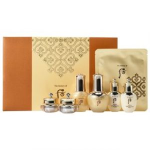 GlowingGorgeous -The History of Whoo-Cheongidan Radiant Regenerating Gold Concentrate Special Set 7pcs 7 pcs
