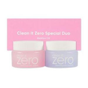 Korean Beauty Skincare -BANILA CO-Clean It Zero Duo Trial Kit 2 pcs