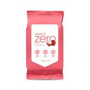 Korean Beauty Skincare -BANILA CO-Clean It Zero Lychee Vita Cleansing Tissue 30 sheets