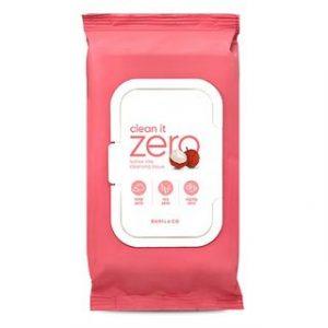 Korean Beauty Skincare -BANILA CO-Clean It Zero Lychee Vita Cleansing Tissue 80 sheets