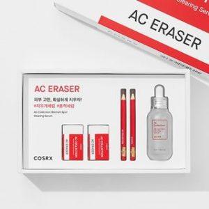 Korean Beauty Skincare -COSRX-AC Collection Blemish Spot Clearing Serum Kit 5 pcs