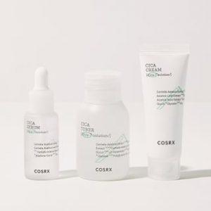 Korean Beauty Skincare -COSRX-Cica-7 Relief Trial Kit 3 pcs