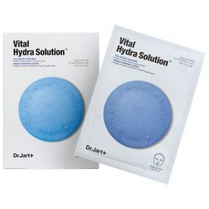 Korean Beauty Skincare -Dr. Jart+-Dermask Water Jet Vital Hydra Solution 25g x 5pcs