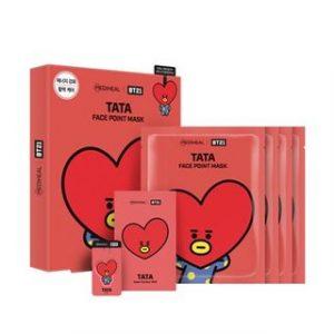 Korean Beauty Skincare -Mediheal-BTS BT21 Face Point Mask Set (7 Types) TATA