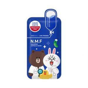 Korean Beauty Skincare -Mediheal-N.M.F Aquaring Ampoule Mask Set 10pcs (Line Friends Edition) 27ml x