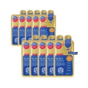 Korean Beauty Skincare -Mediheal-N.M.F Aquaring Hydro Nude Gel Mask Set 10 pcs