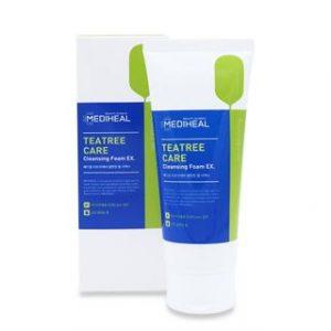 Korean Beauty Skincare -Mediheal-Tea Tree Care Cleansing Foam EX 170ml