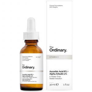GlowingGorgeous -The Ordinary-Ascorbic Acid 8% + Alpha Arbutin 2%