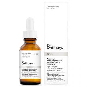 GlowingGorgeous -The Ordinary-Ascorbyl Tetraisopalmitate Solution 20% in Vitamin F 30ml