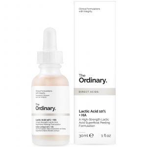GlowingGorgeous -The Ordinary-Lactic Acid 10% + HA 2% Superficial Peeling Formulation 30ml