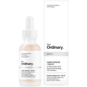 GlowingGorgeous -The Ordinary-Lactic Acid 5% + HA 2% Superficial Peeling Formulation 30ml